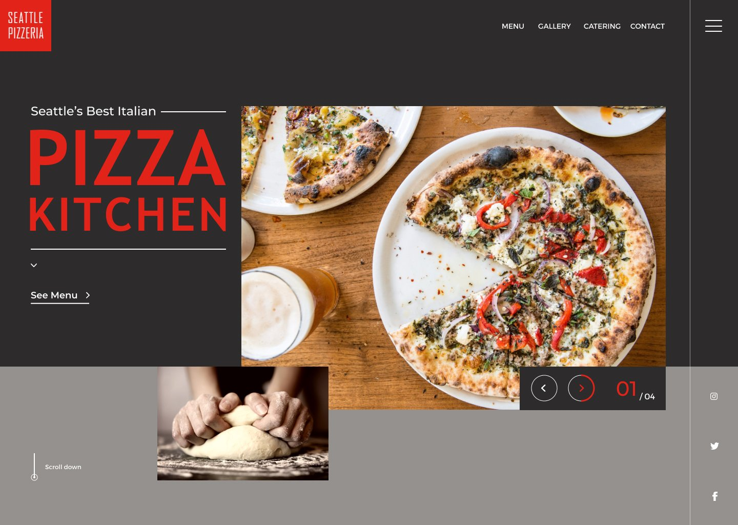 Restaurant Branding Case Study Website